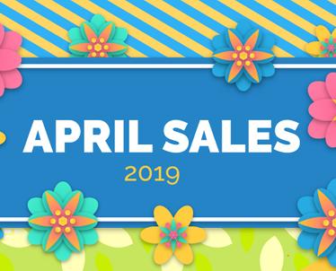 April Sales 2019