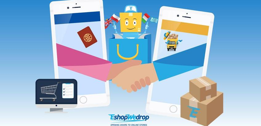 Get ready to shop online with EshopWedrop